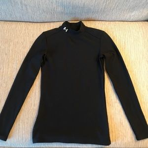 Under Armour Black Long Sleeve Size Small